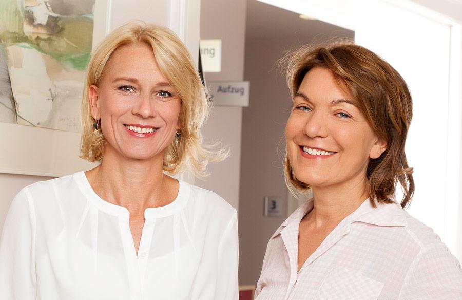 Dr. Dr. Edith Öhrig-Pohl und Meike Stübs
