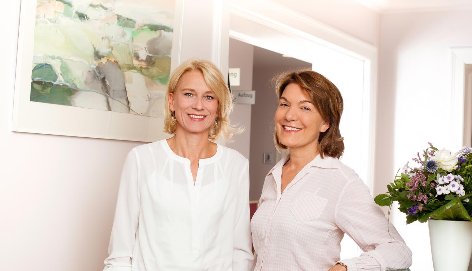 Edith Öhrig-Pohl und Meike Stübs